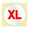 EXTRA LARGE SIZE STICKER - RED INK