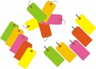 FLUORESCENT SHIPPING TAGS