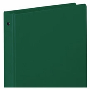 "FOREST GREEN 1"" VINYL BINDER 368-14 -  8 1/2 x 11"