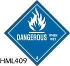HML409 - DANGEROUS LABEL