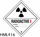 HML416 - RADIOACTIVE l LABEL
