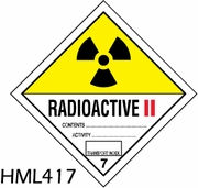 HML417 - RADIOACTIVE ll LABEL