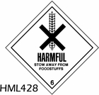 HML428 - HARMFUL LABEL