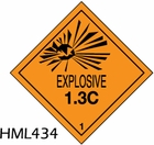 HML434 - EXPLOSIVE LABEL