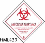 HML439 - INFECTIOUS SUBSTANCE LABEL