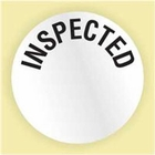 """INSPECTED"" LABEL"