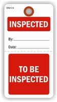 INSPECTED/TO BE INSPECTED TAG