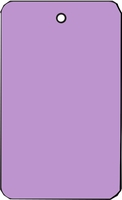 LARGE COUPON TAG BLANK NO STRING IN LAVENDER