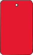 LARGE COUPON TAG BLANK NO STRING IN RED