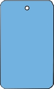 LARGE COUPON TAG BLANK NO STRING IN DARK BLUE