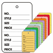 LARGE COUPON TAGS - PRINTED NO STRING