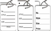 LG COUPON TAG WHITE ONLY SEVERAL STYLES