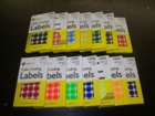 MACO® COLOR CODING LABELS and substitutes for Maco® discontinued labels