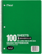 MEAD® 05676 GRAPH PAPER NOTEBOOK