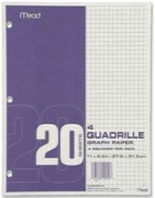 MEAD® 19010 GRAPH PAPER PACK