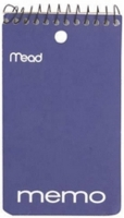 Mead® 45354 Memo Book     (3x5) top bind