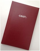 MEAD BURGUNDY CASH BOOK