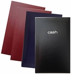 MEAD CASH BOOKS SET OF 4 - 2 BURGUNDY, 1 NAVY, 1 BLACK