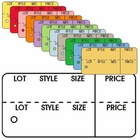 "OBLONG COUPON TAGS 2 7/8"" X 1 3/8"""