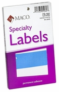 """OS280 FROM/TO LABEL  3"""" X 4"""" BLUE AND WHITE"""