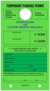 PARKING PERMIT TAGS AND PARKING VIOLATION TAGS