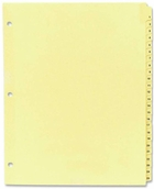 RING BINDER TABBED INDEXES/DIVIDERS (8 1/2 X 11)