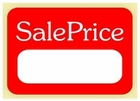 SALE PRICE - RECTANGLE LABEL