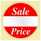 SALE PRICE STICKER - ROUND
