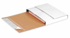 SELF-SEALING WHITE BOOKFOLD MAILERS