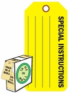 SPECIAL INSTRUCTIONS (FL YELLOW)