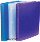 TRANSLUCENT POLY BINDERS for 8 1/2 x 11 SHEET SIZE