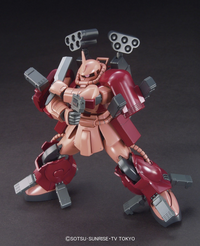 Build Fighters: Zaku Amazing HGBF Model Kit 1/144 Scale - SOLD OUT