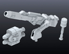 Builders Parts: HD MS Cannon 01  1/144 Scale BPHD-29 - SOLD OUT