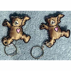 2 Bear Key Rings