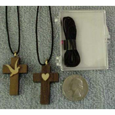 3-Dimensional Wood Crosses