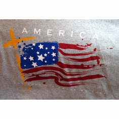 America - T-shirt - extra large