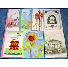 Assortment B Deluxe Greeting-15 Cards