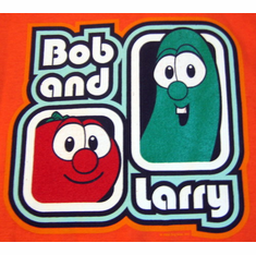 Bob And Larry-Adult T-Shirt