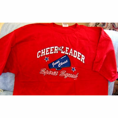 Cheer The Leader-T-Shirt-XLarge
