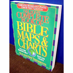 Complete Book Of Bible Maps & Charts