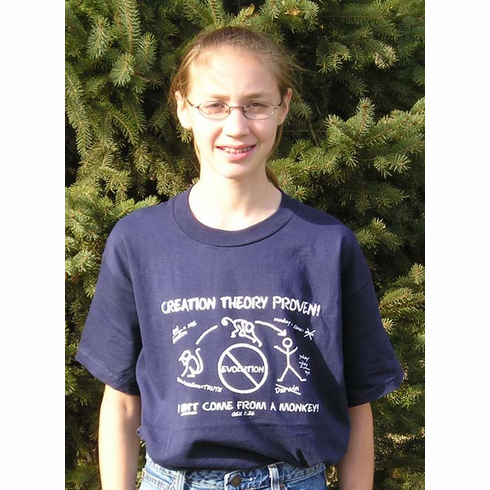Creation Theory Proven! T-Shirt Christian Clothing