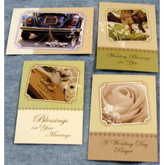 Day To Remember Wedding- 12 Greeting Cards