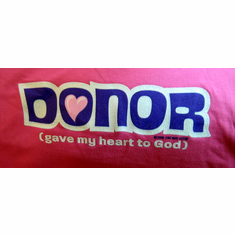 Donor - T-shirt-Extra Large