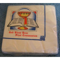First Communion Luncheon Napkins-4 Packs