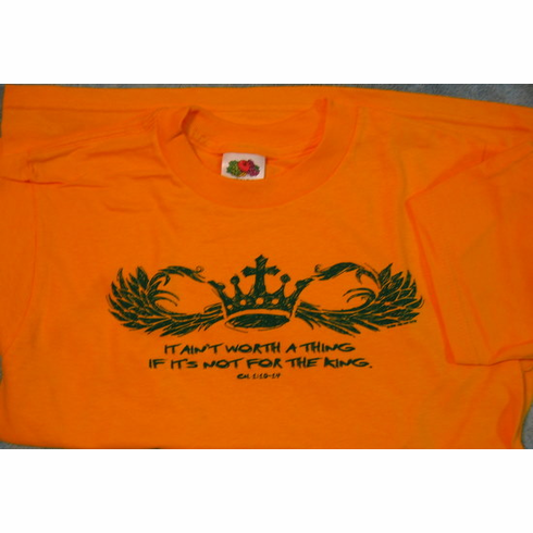 For The King - Youth T-Shirt
