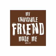 Invisible Friend-Tee Shirt-Large