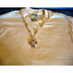 Jewelry Tee-Natural Linen-Medium