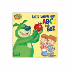 Let's Learn Our ABCs with BOZ -Board Book