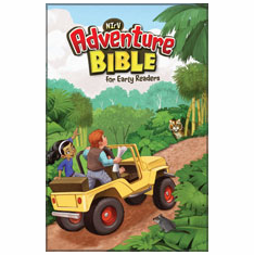 NIrV Adventure Bible-For Young Readers