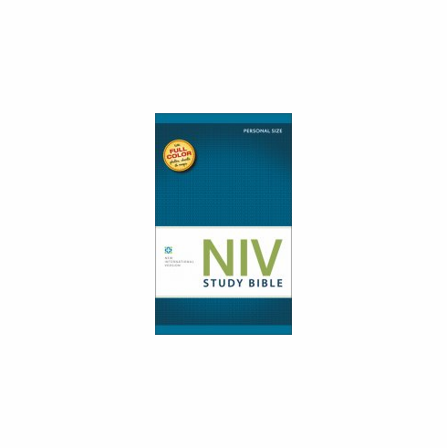 NIV Study Bible- All Color-Hard Cover -2011 Edition